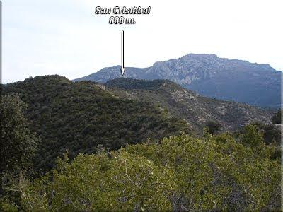 San Cristóbal visto desde la antecima