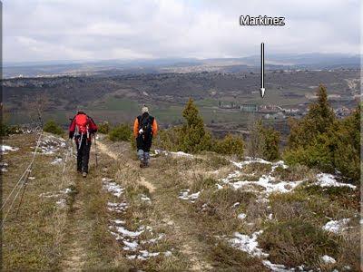 Markinez durante el descenso