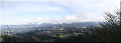 Panorámica norte desde Atxuri