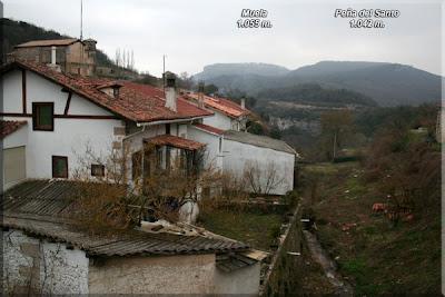 Muela y Peña del Santo desde Korres