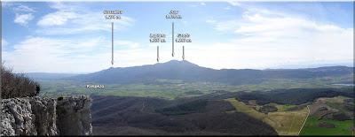 Panorámica desde la cima - año 2006