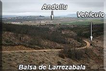 Vistas desde la balsa de Larrezabala