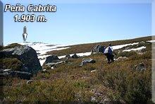 Peña Cabrita como referencia