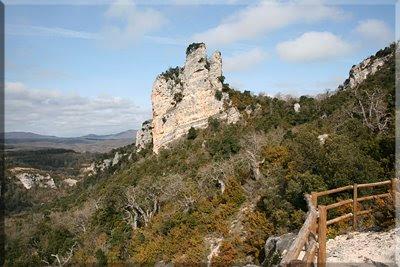 Peña del Castillo visto desde el Mirador