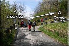 Carretera Lizartza-Orexa