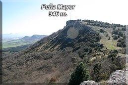 Peña Mayor desde el Pto. de San Miguel