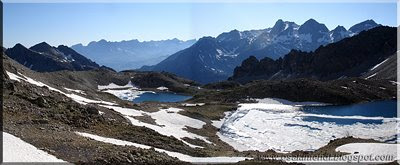 Panorámica desde el Cuello de Brazato 2.580 m.