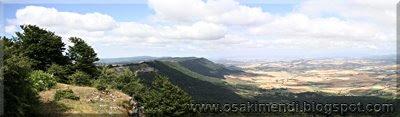 Vistas desde la cercanía de Arrigorrista - 2009