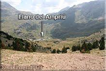Llano del Ampriú desde la collareta