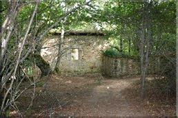 Las ruinas de un pueblo abandonado