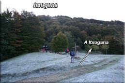 Parque de San Bitor a los pies de Itxogana