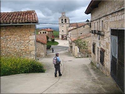 Calle del Castillo en Portilla, final de la Circular