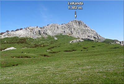 Lekanda visto desde Arrabakoate