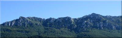 Vistas de la Sierra desde la carretera