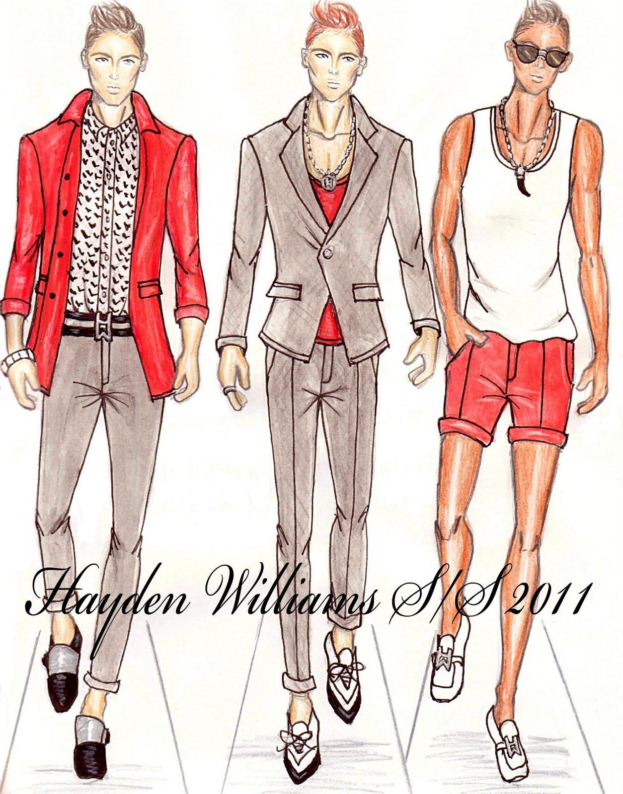Hayden Williams Fashion Illustrations Hayden Williams