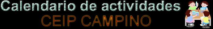 Calendario CEIP Campino