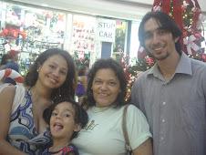 FAMILIA MAGALHÃES RECEBE MISSIONÁRIOS CEARENCES EM CAMPO GOIANO