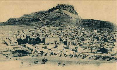 """IMAGENES  """" ALICANTE EN EL RECUERDO """" Alicante+y+el+castillo+de+santa+b%C3%A1rbara+1880"""