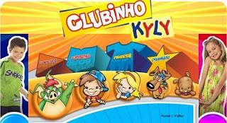 Brinde Gratis Kit Clubinho Kyly