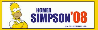 Brinde Gratis Camiseta Homer Simpson Para Presidente