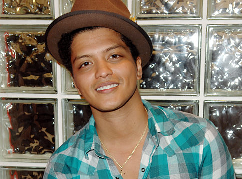 "Watch Bruno Mars perform ""Somewhere In Brooklyn"" which was off his EP and is"
