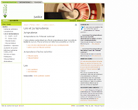 screenshot site jurisprudence du Tribunal cantonal