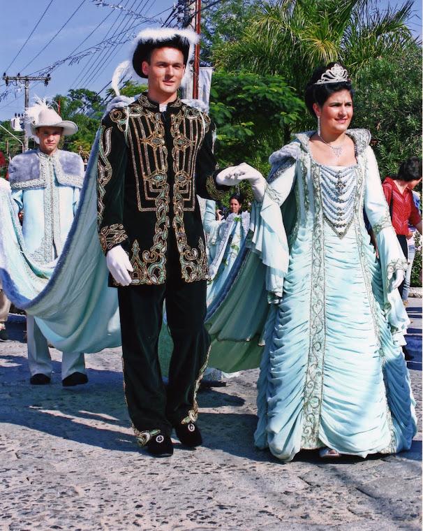Corte da Festa do Divino da Lagoa da Conceição de 2008