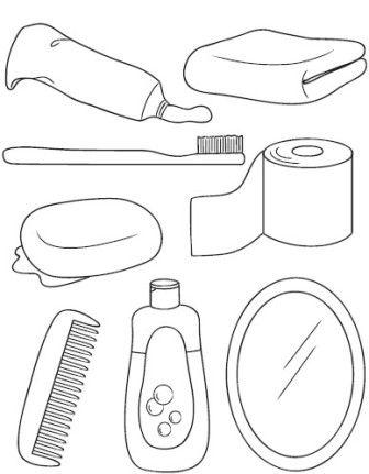 Meu maternal higiene for Imagenes de utiles de aseo