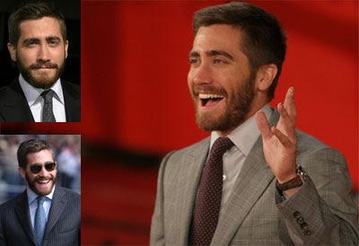 Jake Gyllenhaal también lleva barba