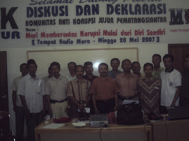 Komunitas Anti Korupsi Jangan Uang Jadi Ukuran Rasa (KAK JUJUR)