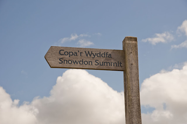 Travel, attractions, united kingdom, Snowdon, llanberis path, summit sign