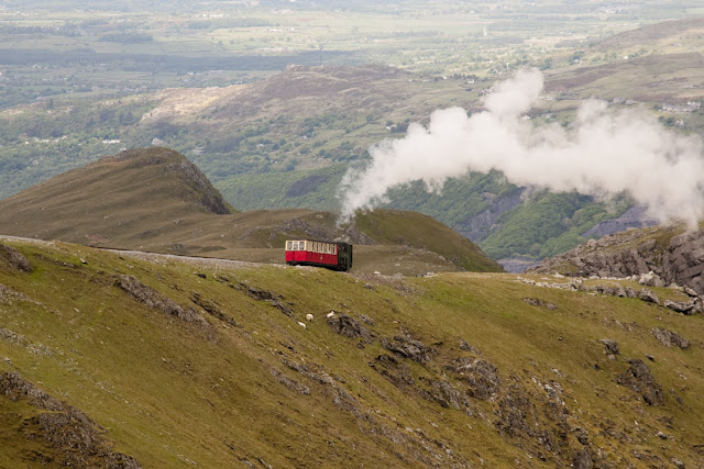 Travel, attractions, united kingdom, Snowdon, llanberis path, train