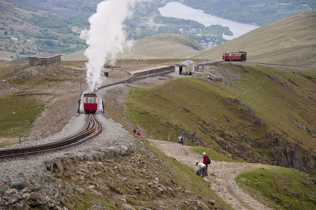 Travel, attractions, united kingdom, Snowdon, llanberis path,train