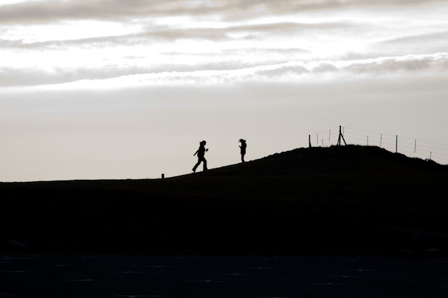 Travel, attractions, united kingdom, llandudno, Great Orme Marine Drive, family silhouette