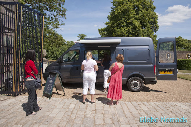 Travel, Attraction review, United Kingdom, Ham House ticketing van