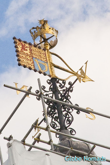 wind vane on White Tower