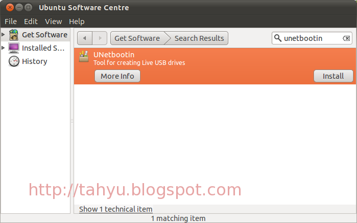 Cara bakar file ISO ke flashdisk atau USB Drive dengan Menggunakan Unetbootin