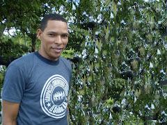 Omar Silverio Presidente de el Grupo Comunitario Seibano