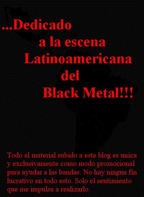 BLACK METAL LATINOAMERICANO - Donde Hay Una Voluntad Hay Un Camino