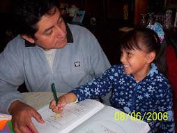 Papá tambien apoya la lecto-escritura