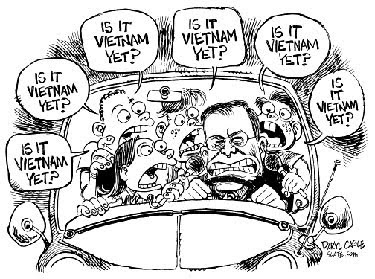 Vietnamization Political Cartoon