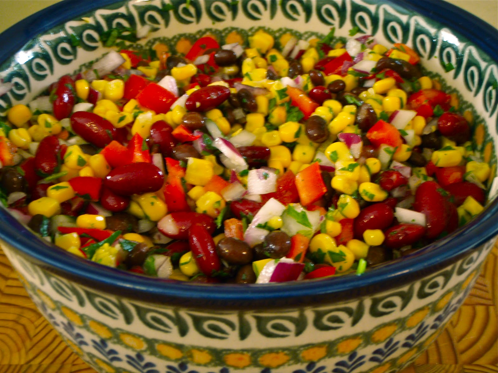 CHUCK WAGON RECIPES: Black Bean Salad