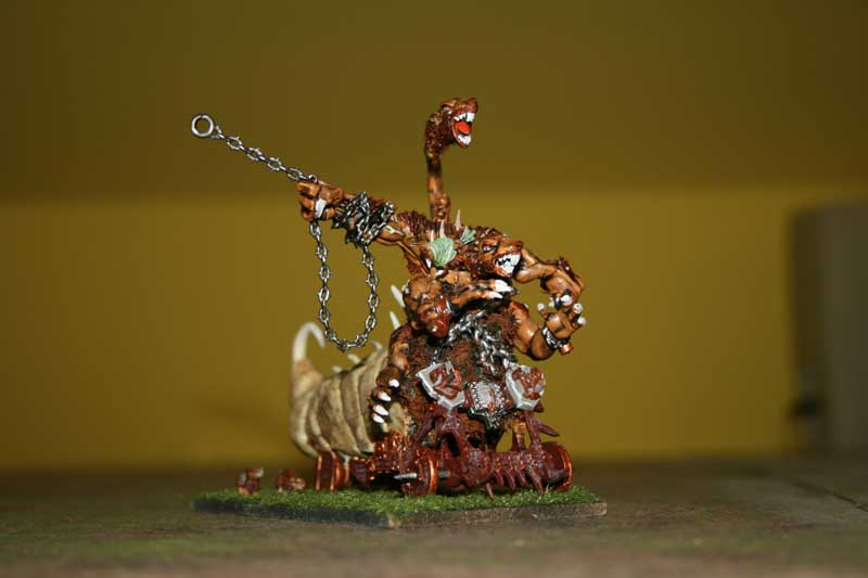 Moj Hellpit abomination, po licnom skromnom misljenju bolji od GW ovog :D Abomination