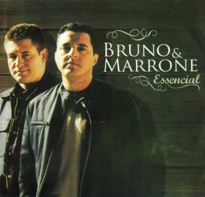 Capa do álbum Bruno e Marrone   Essencial (2010)