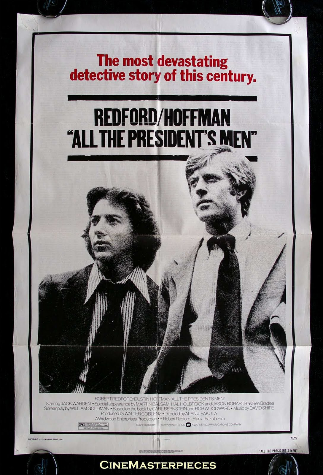 an analysis of all the presidents men Impartiality aside, no film blends the elements of journalism and washington intrigue more compellingly than all the president's men, the story of two washington post reporters who helped take down the no 1 resident on pennsylvania avenue, transforming both politics and journalism.