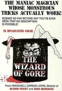The Wizard of Gore (1970)