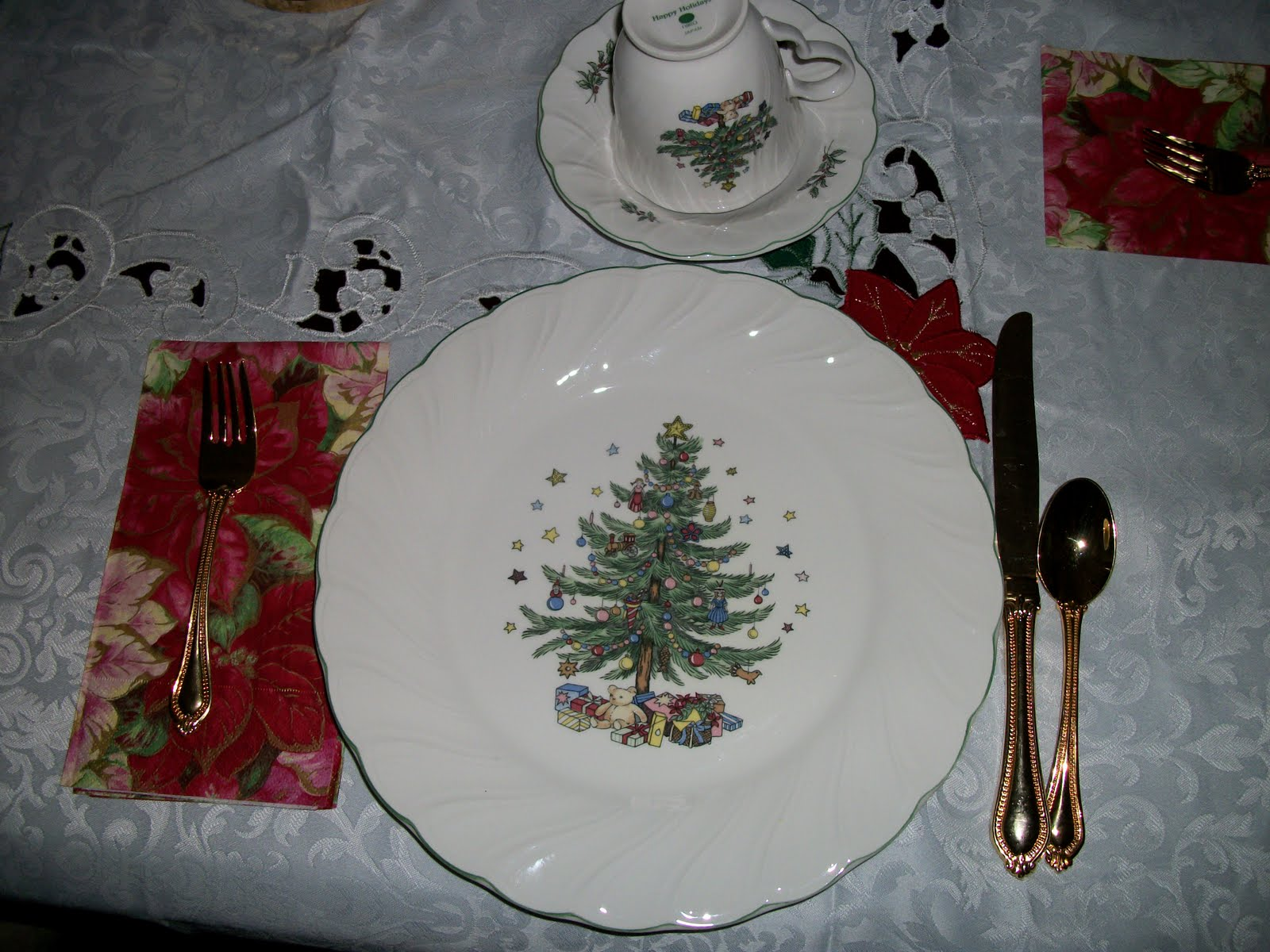 Writing Straight From The Heart: Christmas Dishes!