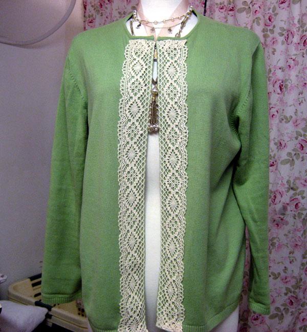 Как из старого надоевшего пуловера сделать жакет в стиле Жаклин Кенеди.  Очень просто.