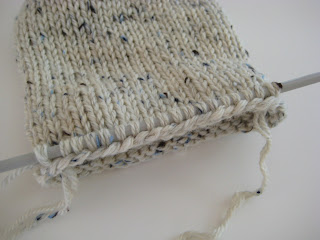 Knitting Stitches To Cm : Dominant Hands: How to Knit and Felt a Small Bag
