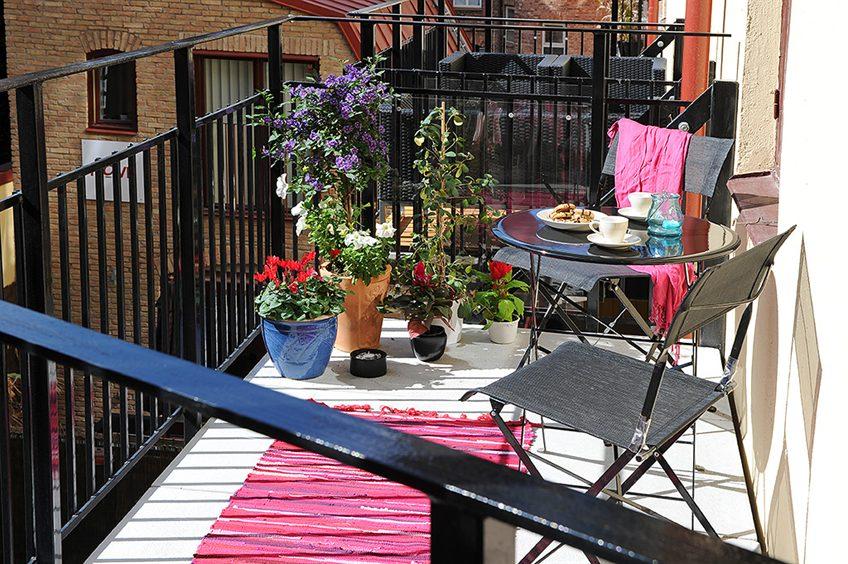 Interiorizm: летний дизайн балкона *balcony design* (часть 1.